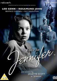 No Place for Jennifer DVD from Network and The British Film.  Features Janette Scott as Jennifer.