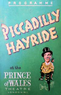 Programme from Piccadilly Hayride (1946) at the Prince of Wales Theatre, London (1)