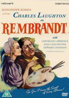 Rembrandt DVD from Network and The British Film.  Features Charles Laughton and Gertrude Lawrence