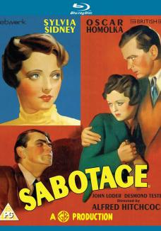 Sabotage Blu-ray from Network and The British Film
