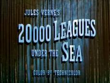 20,000 Leagues Under the Sea (1954) opening credits