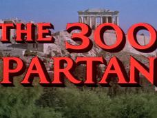 The 300 Spartans (1962) opening credits (3)