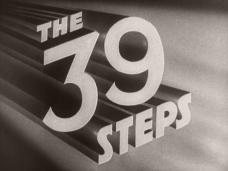 The 39 Steps (1935) opening credits (2)