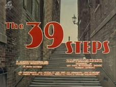 The 39 Steps opening credits (1959)