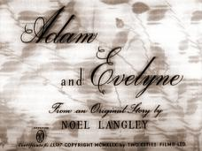Adam and Evelyne (1949) opening credits