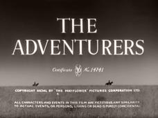 The Adventurers (1951) opening credits (4)