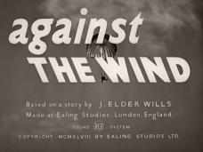 Main title from Against the Wind (1948) (5)
