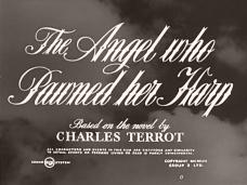 The Angel Who Pawned Her Harp (1954) opening credits (4)