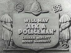 Ask a Policeman (1939) opening credits