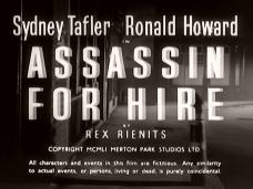 Main title from Assassin for Hire (1951) (2)