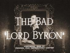The Bad Lord Byron (1948) opening credits