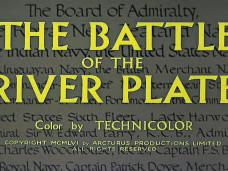 The Battle of the River Plate (1956) opening credits