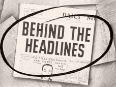 Main title from Behind the Headlines (1956) (3)