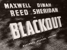 Blackout (1950) opening credits (4)