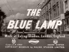 The Blue Lamp (1950) opening credits