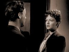 Derek Farr (as Joe Marsh) and Jean Kent (as Ricki Merritt) in a screenshot from Bond Street (1948) (5)