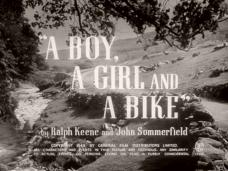A Boy, a Girl and a Bike (1949) opening credits (5)