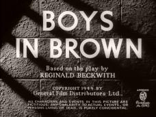 Boys in Brown (1949) opening credits (4)