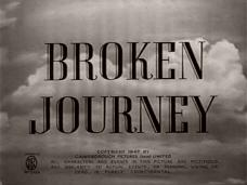 Broken Journey (1948) opening credits
