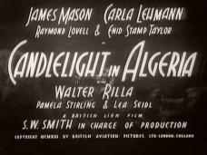 Candlelight in Algeria (1944) opening credits (1)