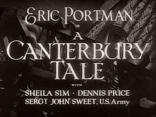 A Canterbury Tale (1944) opening credits (4)