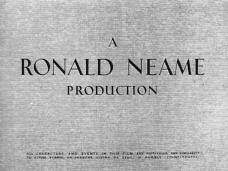 Main title from The Card (1952) (2). A Ronald Neame Production