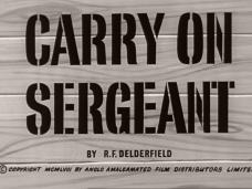 Carry On Sergeant (1958) opening credits (4)