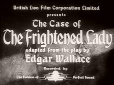 The Case of the Frightened Lady (1940) opening credits (1)