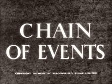 Main title from Chain of Events (1958) (1). Copyright 1958 by Beaconsfield Films Limited