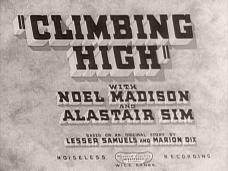 Climbing High (1938) opening credits (3)