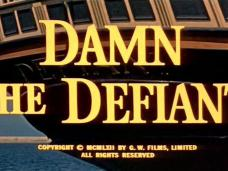 Main title from HMS Defiant (1962) (1) [as Damn the Defiant!]. Copyright MCMLXII by G W Films Limited. All rights reserved