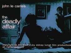 The Deadly Affair (1967) opening credits (7)