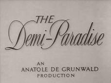 The Demi-Paradise (1943) opening credits (4)