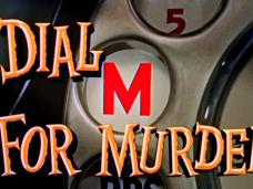 Dial M for Murder (1954) opening credits (2)