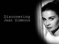 Main title from the 'Discovering: Jean Simmons' episode of Discovering Film, featuring Jean Simmons