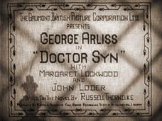 Doctor Syn (1937) opening credits