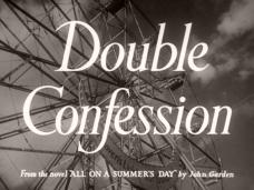 Double Confession (1950) opening credits (2)