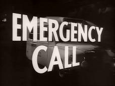 Emergency Call (1952) opening credits (3)