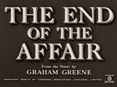 The End of the Affair (1955) opening credits (3)
