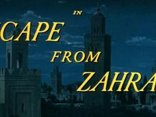 Escape from Zahrain (1962) opening credits