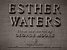 Esther Waters (1948) opening credits (4)