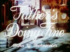 Father's Doing Fine (1952) opening credits (3)