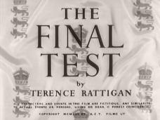 The Final Test (1953) opening credits (4)