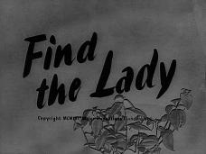 Main title from Find the Lady (1956) (3)