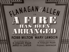 A Fire Has Been Arranged (1935) opening credits (2)