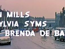 Main title from Flame in the Streets (1961) (3). John Mills, Sylvia Syms, Brenda de Banzie