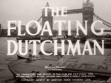 The Floating Dutchman (1952) opening credits (3)