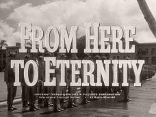 From Here to Eternity (1953) opening credits (3)
