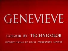 Genevieve (1953) opening credits