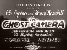 The Ghost Camera (1933) opening credits (2)